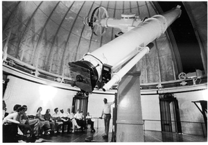 Edwin Taylor Pollock - Asaph Hall's telescope at the U.S. Naval Observatory