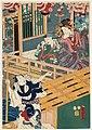 Utagawa Kunisada II - Courtesan, Kamuro and Boatman.jpg