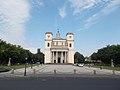 Vác Cathedral on Konstantin Square. - Hungary.JPG
