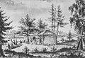 Vällinge övre lusthuset, Piper, 1800.jpg