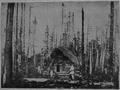 V.M. Doroshevich-Sakhalin. Part I. Beginning of Settlement in Taiga. First House.png