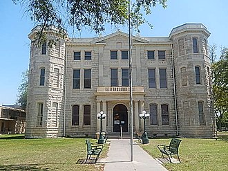 Val Verde County, Texas - Image: Val Verde County Courthouse in Del Rio, TX DSCN1423