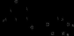 Struktur von Valaciclovir