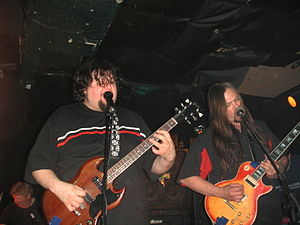 Van Conner - Van Conner (left) performing with Patrick Conner (right) in the band  VALIS
