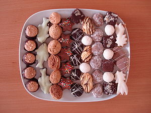Christmas cookies in Czech republic.