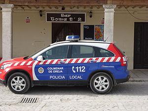 BESCAM - BESCAM Honda CRV of the Colmenar de Oreja Municipal Police