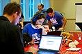 Vera at Wikimedia Wikidata & GLAM Hackathon 2014.jpg