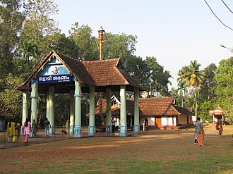 Ayyappan - Ayyappan (Dharma Sastha) temple in Vadakkekkara, Changanassery.