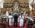 Vespers of Good Friday afternoon -- Annuniciation, Toronto, 2014.JPG