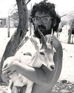 Steve Katz (politician) - Katz as shown here during his early days as a field scientist and researcher with the World Wildlife fund.