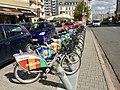 Veturilo Bicycles, Warsaw, Poland, 2015, 02.jpg