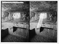 Via Dolorosa. The Prison of the Antonia. Spurious stock. LOC matpc.02500.jpg