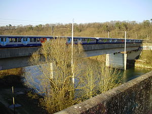 Paris-Est - Strasbourg-Ville railway - The railway at Chalifert