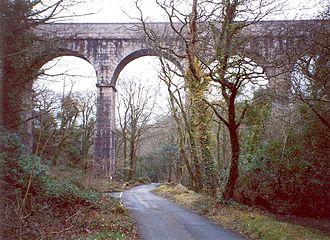 Treffry Tramways - Treffry  Viaduct