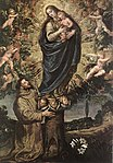 Vicente Carducho - Vision of St Francis of Assisi - WGA04210.jpg