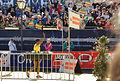 Vienna 2013-04-14 Vienna City Marathon aftermath - Haile Gebrselassie greeting his enthusiastic Viennese fans after winning VCM Half Marathon 3rd time.jpg