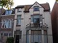 Vier woningen en een sociëteitsgebouw met bovenwoning in Winschoten 1906 - 2.jpg