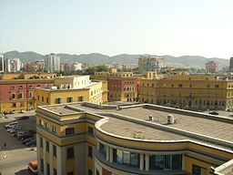 View from Clock Tower of Tirana.JPG