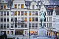 View from Mont des Arts at the equestrian statue of King Albert I (close up view), Brussels, Belgium, Western Europe. 3 December, 2015.jpg
