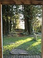 View from the porch at St Michael, Up Marden - geograph.org.uk - 1093295.jpg