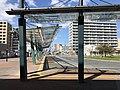 View in front of north entrance of Kyudai-Gakkentoshi Station.jpg