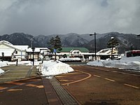 View of Hida-Furukawa Station.JPG