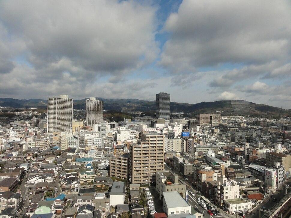 View of Takatsuki city 2