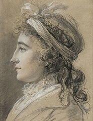 Portret Marie-Caroline von Thun, Lady Gillford