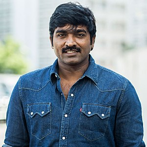 Vijay Sethupathi - Vijay Sethupathy at the audio launch of Dharma Durai (2016)