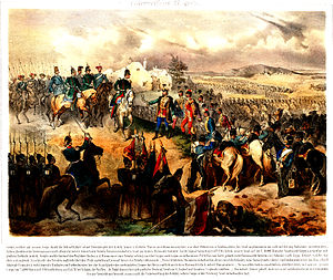 Șiria - Capitulation of the Hungarian army, 1849