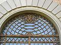 Villa di careggi, portale 02 stemma medici.JPG
