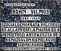Vilmos Böhm plaque Budapest07.jpg