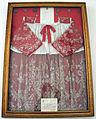Vinci, santa croce, int., cappella del santissimo, rocchetto di giovanni XXIII.JPG