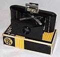Vintage Kodak Jiffy V.P. (Vest Pocket) Bakelite Camera, Body Styled For Kodak By Walter Dorwin Teague, Uses 127 Film, Made In USA By Kodak From 1935 To 1942 (32047703612).jpg