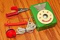 Vintage Miniman Germanium Crystal Radio, Model M-702, AM Band, Made In Japan, Circa 1958 (48632995952).jpg