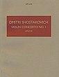 Violin Concerto No 1, Opus 99 (Boosey & Hawkes, 1957, cover).jpg