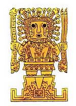 Inca god Viracocha.