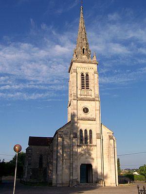 Virelade - Image: Virelade Église Sainte Marie 01