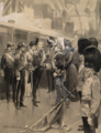 Visit of King Carlos I of Portugal, Arrival at Windsor Station, 15th November 1904 - Frank de Haenen.png