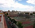 Vista de Burjassot i l'església del Sagrat Cor.JPG