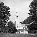 Vojsko- cerkev s pokopališčem 1959.jpg