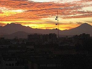 Iztaccihuatl - Image: Volcanes DF