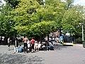 Vondelpark, skaters, Roemer Visscherstraat.jpg