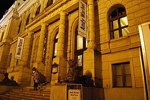 Galerie Rudolfinum - Entrance to the gallery