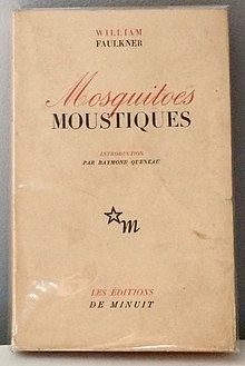 WILLIAM FAULKNER - Moustiques. Paris - Les Éditions de Minuit, 1948..jpg