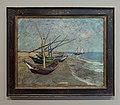WLANL - Pachango - Vissersboten op het strand van Saintes-Maries-de-la-Mer, Vincent van Gogh (1888).jpg