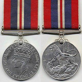 War Medal 1939–1945 campaign medal