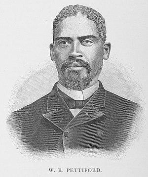 William R. Pettiford - Pettiford in 1887