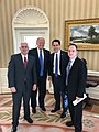 Walker with Trump, Pence and Priebus in the Oval Office.jpg