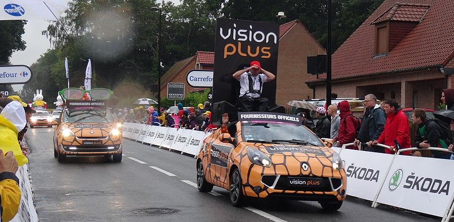 Wallers - Tour de France, étape 5, 9 juillet 2014, arrivée (A48).JPG